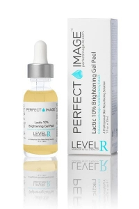 Perfect Image - Lactic Brightening 10% Gel Peel - Kwas mlekowy 9% + Kwas kojowy 1% (level R) 30ml