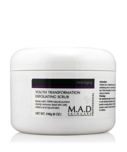 M.A.D Anti-Aging Youth Transformation Exfoliating Scrub Peeling mechaniczny 240g