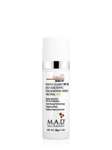M.A.D Photo Guard SPF50 Self Adjusting Foundation Serum Light/Neutral Filtr + Podkład 30ml