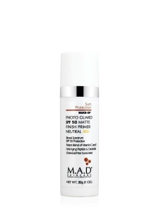 M.A.D Photo Guard SPF50 Self Adjusting Foundation Primer Light/Neutral Filtr + Podkład 30ml