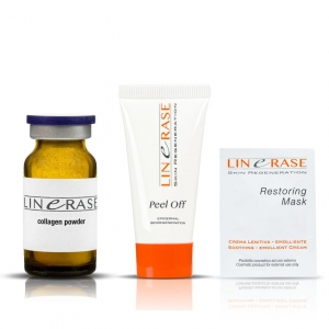Linerase 5ml + Peel Of 10ml + Restoring Mask